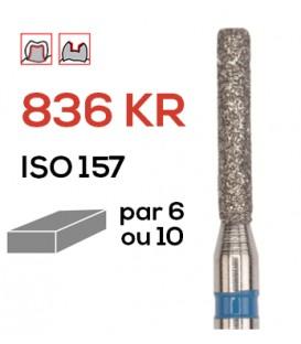 Fraise diamantée à épaulement 836 KR