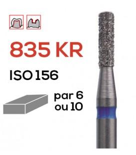 Fraise diamantée à épaulement 835 KR