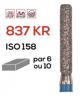 Fraise diamantée à épaulement 837 KR