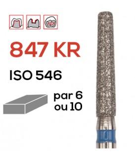 Fraise diamantée pour congés 847 KR