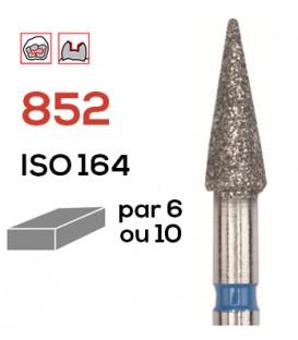 Fraise diamantée pour congés 852