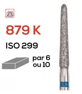 Fraise diamantée pour congés 879 K