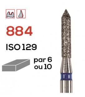 Fraise diamantée pour congés 884