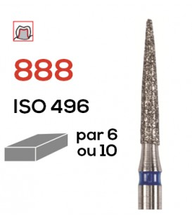 Fraise diamantée pour congés  888