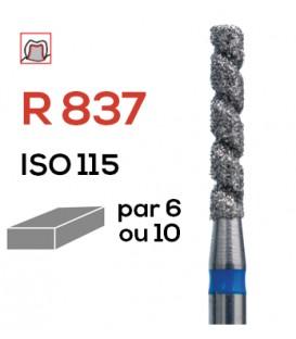 Fraise diamantée spéciale (turbo) R 837