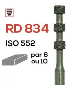Fraise diamantée spéciale (facette) RD 834
