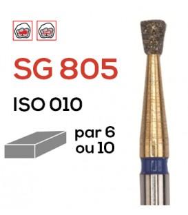Fraise diamantée poire inversée SG 805