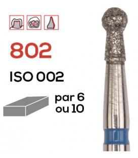 Fraise diamantée boule 802