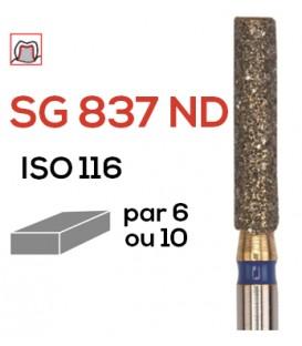 Fraise diamantée à épaulement SG 837 ND