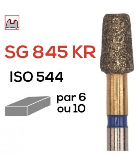 Fraise diamantée spéciale (préparation inlay / onlay) SG 845 KR