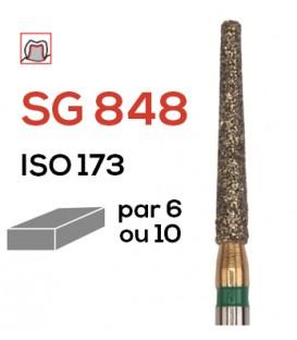 Fraise diamantée pour congés SG 848
