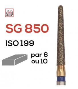 Fraise diamantée pour congés SG 850