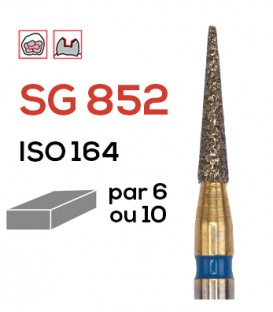 Fraise diamantée pour congés SG 852