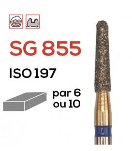 Fraise diamantée pour congés SG 855