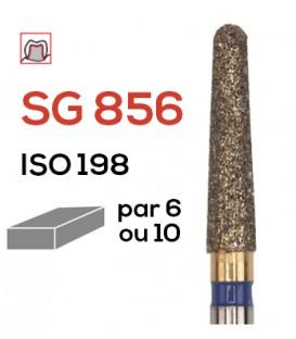 Fraise diamantée pour congés SG 856