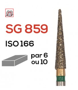 Fraise diamantée flamme SG 859
