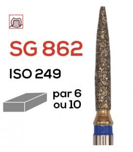 Fraise diamantée flamme SG 862