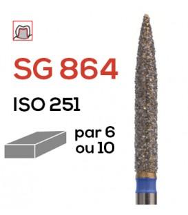 Fraise diamantée flamme SG 864