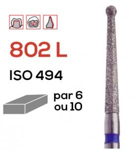 Fraise diamantée boule 802 L