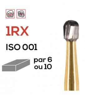 Fraise de préparation en carbure de tungstène 1RX