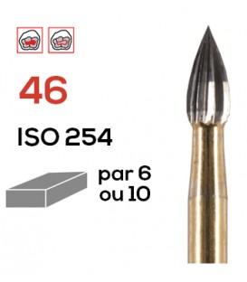 Fraise de finition en carbure de tungstène 46
