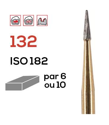 Fraise de finition en carbure de tungstène 132