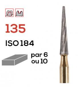 Fraise de finition en carbure de tungstène 135