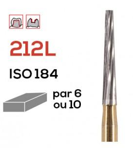 Fraise de finition en carbure de tungstène 212L