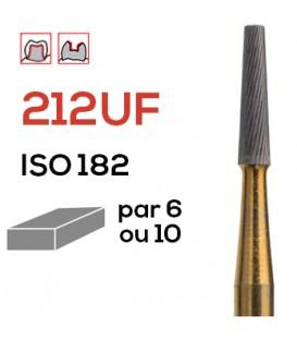 Fraise de finition en carbure de tungstène 212UF