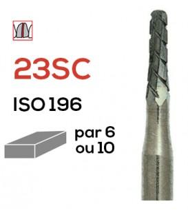 Fraise de coupe couronnes en carbure de tungstène 23SC