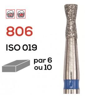 Fraise diamantée poire inversée 806