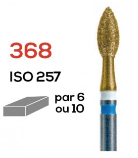 Fraise diamantée spéciale pour zircon 368