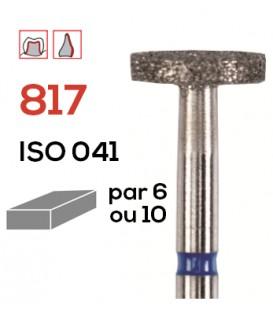 Fraise diamantée roue 817