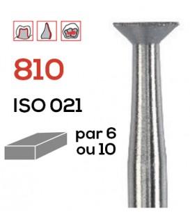 Fraise diamantée poire inversée 810